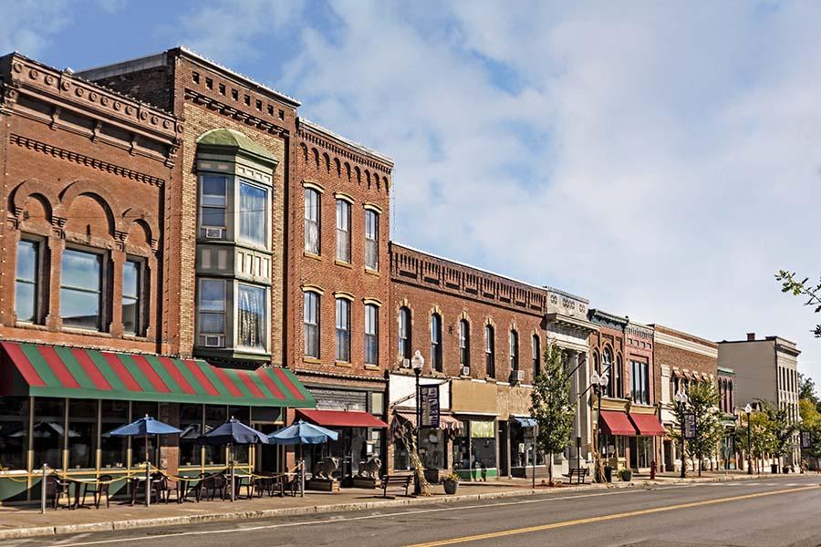 Marion VA - View Of Marion Virgina Main Street